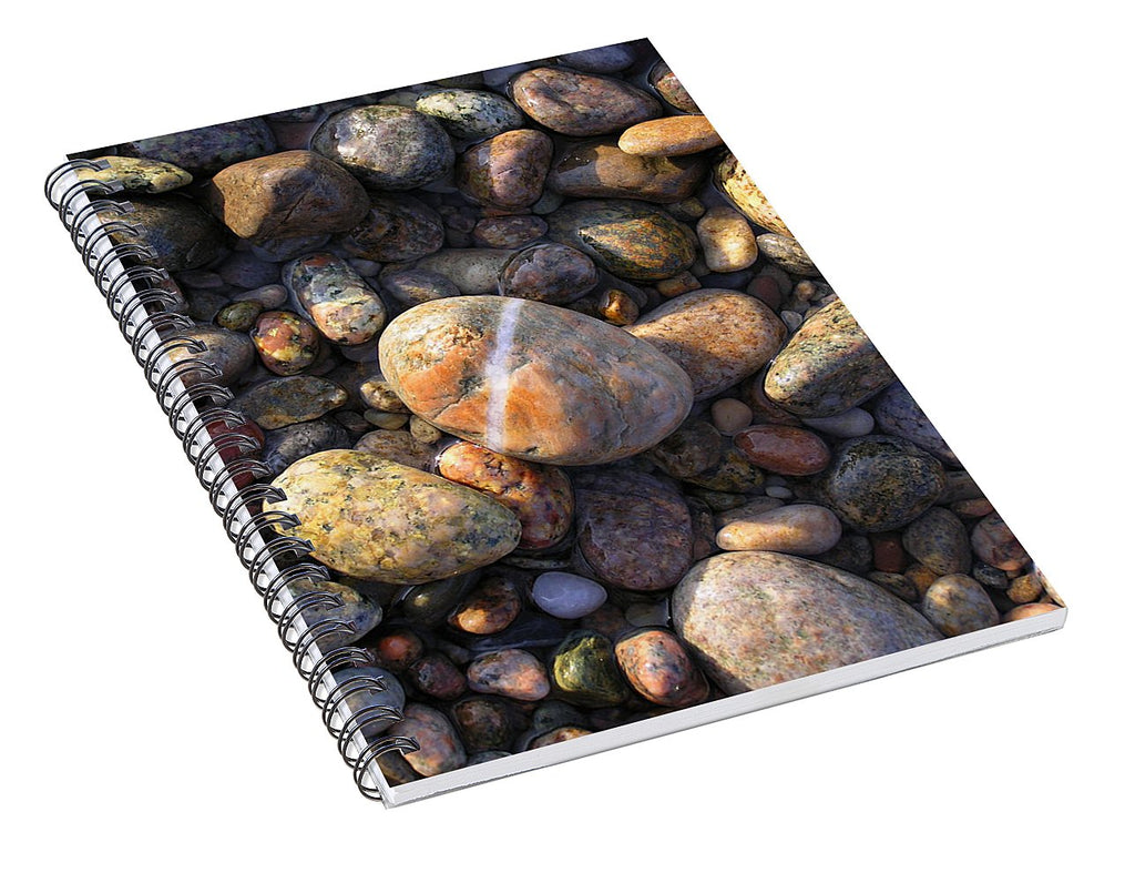 The Lucky Rock - Spiral Notebook