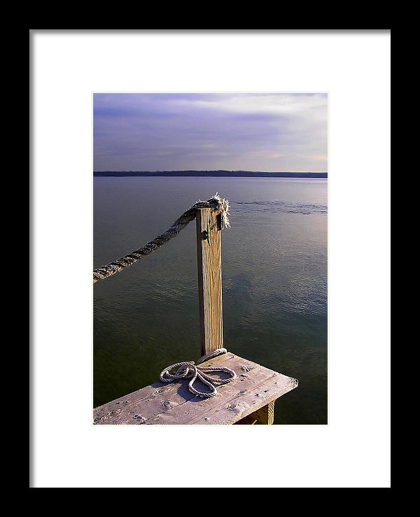 The Ropewalk - Framed Print