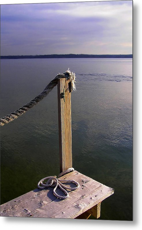 The Ropewalk - Metal Print