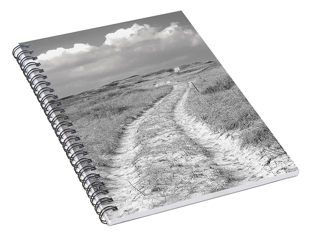 Truro Dune Trail - Spiral Notebook