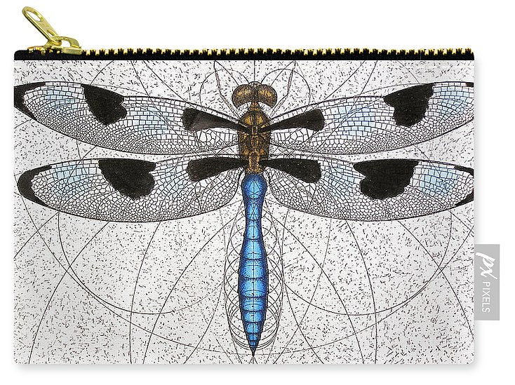 Twelve Spotted Skimmer - Carry-All Pouch