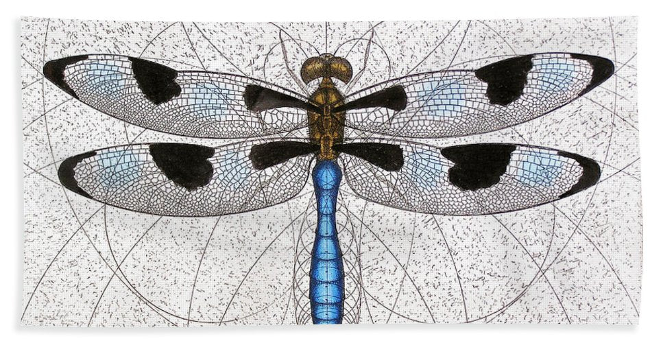 Twelve Spotted Skimmer - Beach Towel