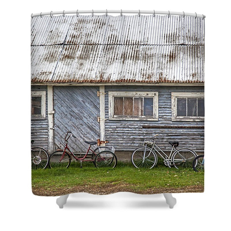 Vermont Bicycles - Shower Curtain