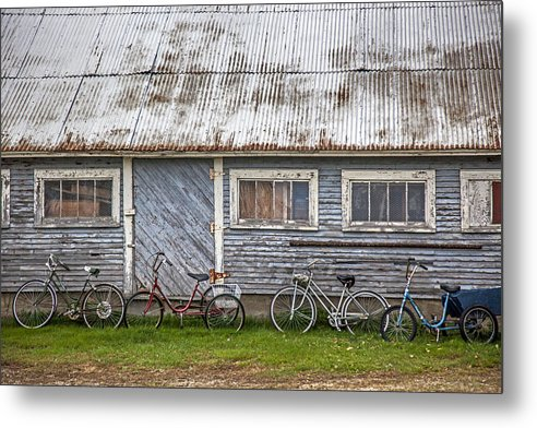 Vermont Bicycles - Metal Print