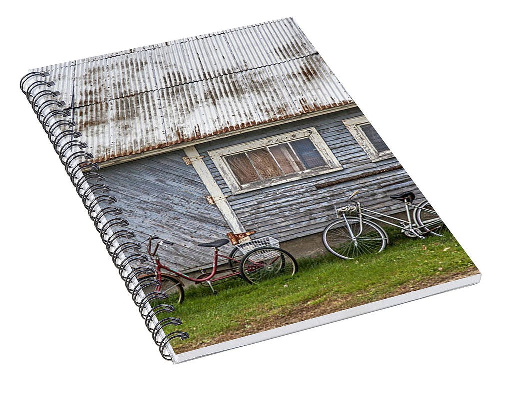 Vermont Bicycles - Spiral Notebook