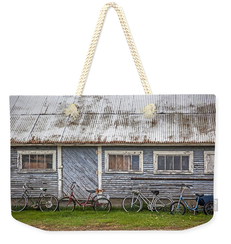 Vermont Bicycles - Weekender Tote Bag