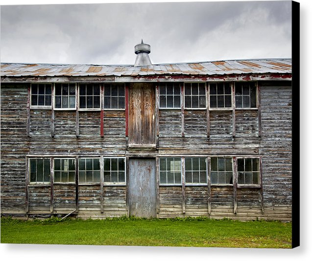 Vermont Chicken Coop - Canvas Print