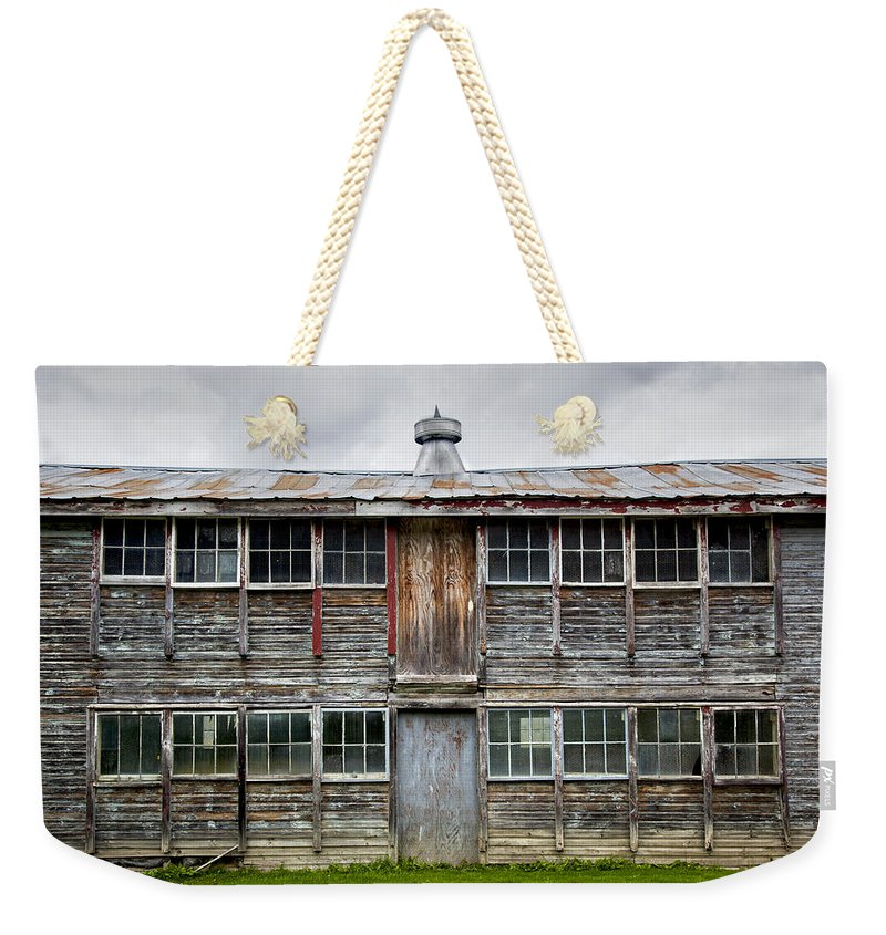 Vermont Chicken Coop - Weekender Tote Bag