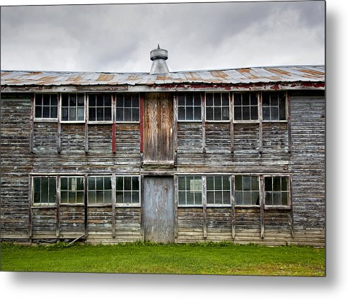 Vermont Chicken Coop - Metal Print