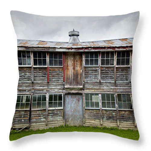 Vermont Chicken Coop - Throw Pillow