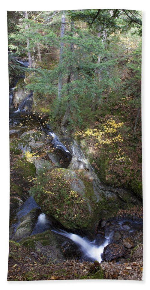 Vermont Stream 2 - Beach Towel