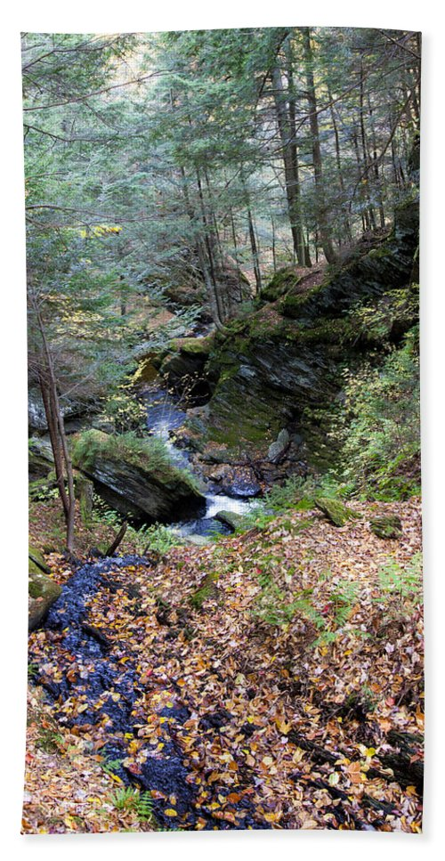 Vermont Stream - Beach Towel