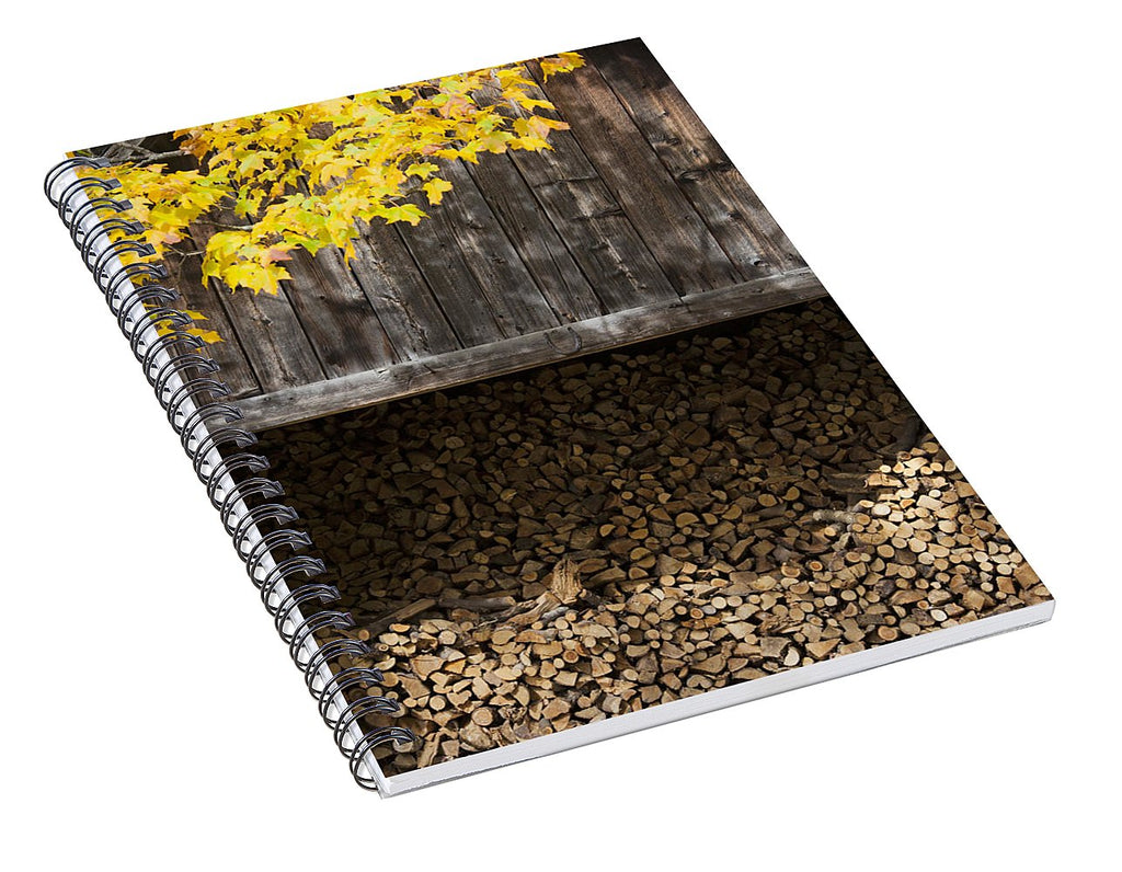Vermont Woodshed - Spiral Notebook