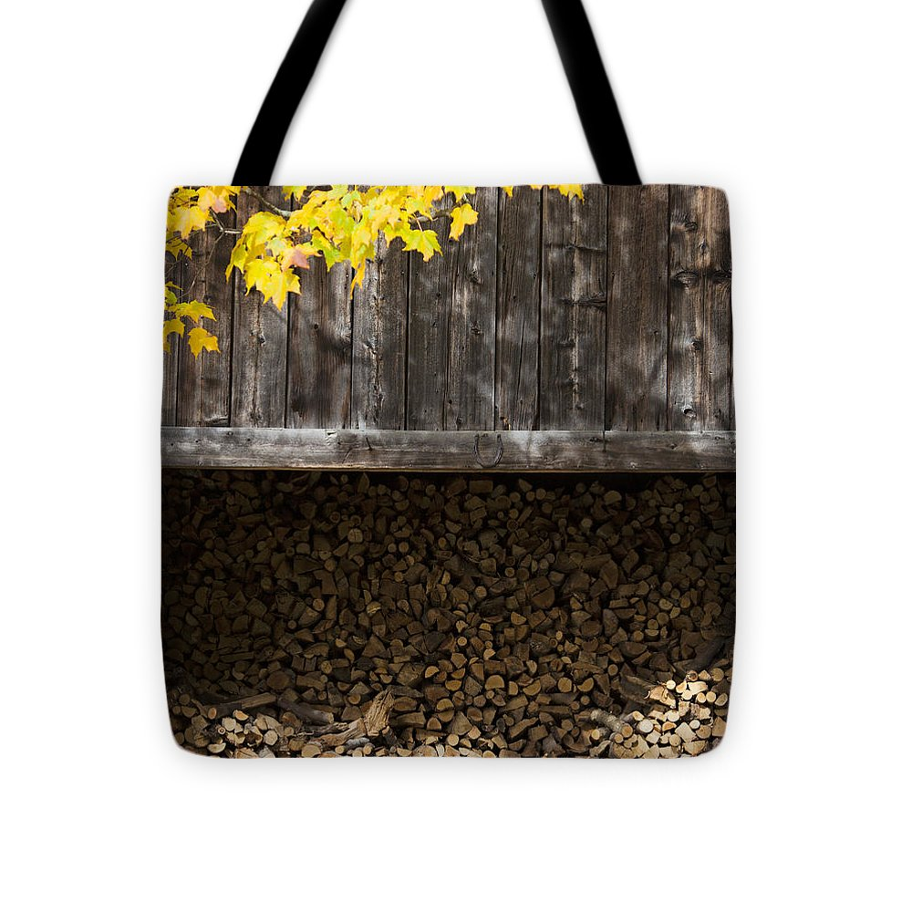Vermont Woodshed - Tote Bag