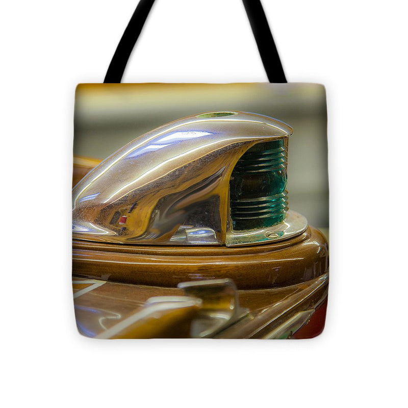 Vintage Century Boat Bow Light - Tote Bag