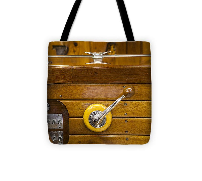 Vintage Century Boat Speed Shift - Tote Bag