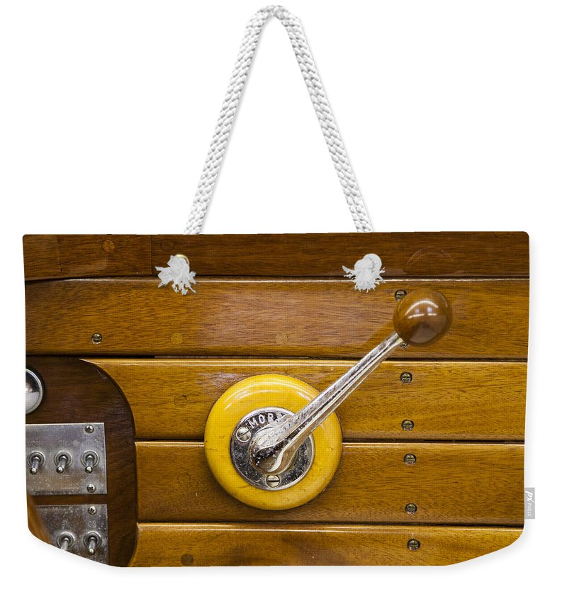 Vintage Century Boat Speed Shift - Weekender Tote Bag
