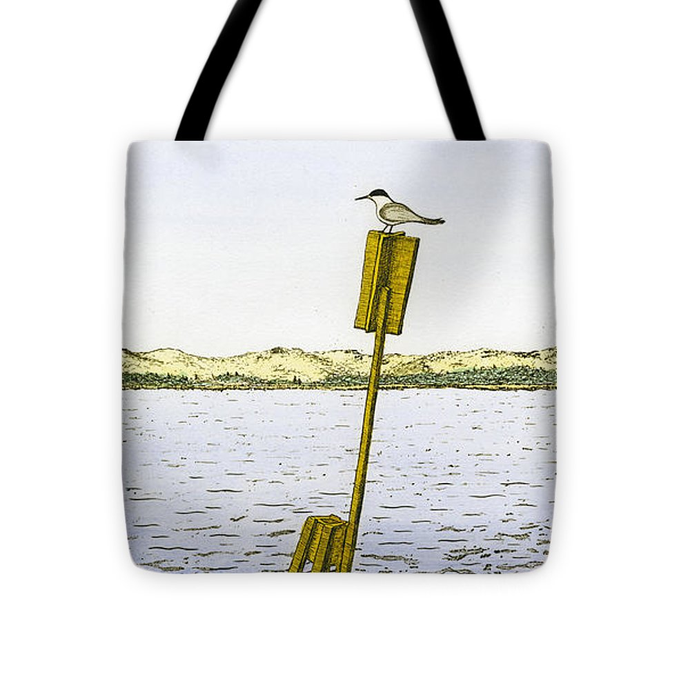 Watching From Number 2 - Tote Bag