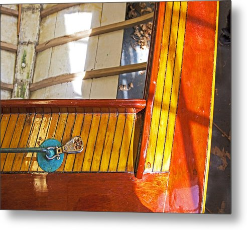 Wenaumet Kitten Sailboat Restoration - Metal Print