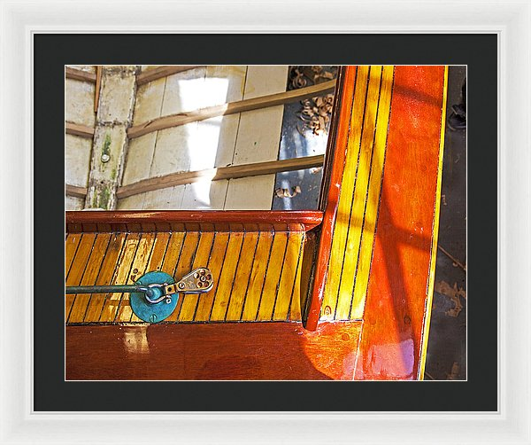 Wenaumet Kitten Sailboat Restoration - Framed Print