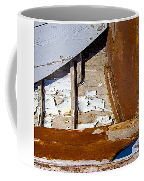 Wooden Boat Abstract 1 - Mug