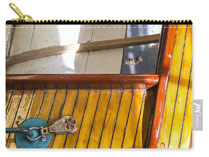 Wooden Sailboat Restoration 2 - Carry-All Pouch