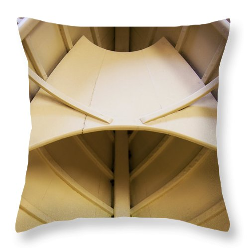Wooden Dory - Throw Pillow