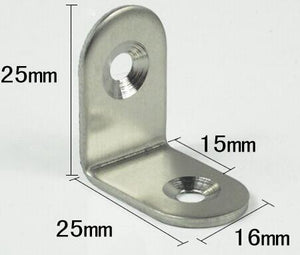 Stainless steel 2mm thickness Semicircle corner brace