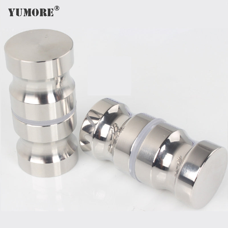 Stainless steel metal glass galvanized steel long interior door lock kitchen cabinet door handle