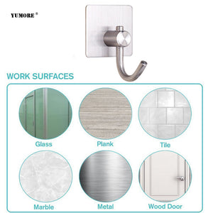 Adhesive stainless steel Coat Hook