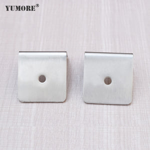 stainless steel 2.5mm Square corner brace