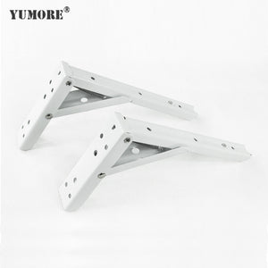 Wholesales stainless steel iron wall mounted shelf brackets