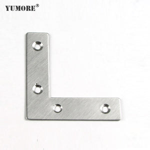 stainless steel 1mm and 1.5mm L  corner brace