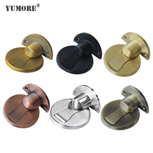Decorative sliding stoppers metal floor door stops
