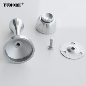French style floor door mounted gate stops holders