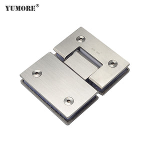 High-quality stainless steel 180° Glass door clamp