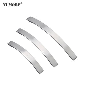 Satin drop dresser drawer pulls cabinet hardware zinc alloy furniture zinc kitchen handle