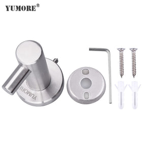 bathroom using metal coat hooks for home decorations
