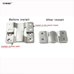 Factory Price Single Stainless Steel Picture Wall Mounted Hook
