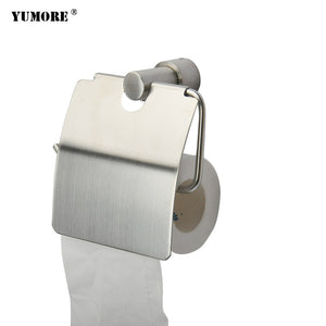 304 Stainless Steel Wall Mounted Chrome Plated Toilet Paper Holder