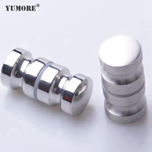 Hotel clear bathroom furniture large round kitchen cupboard concealed glass cabinet drawer door pulls