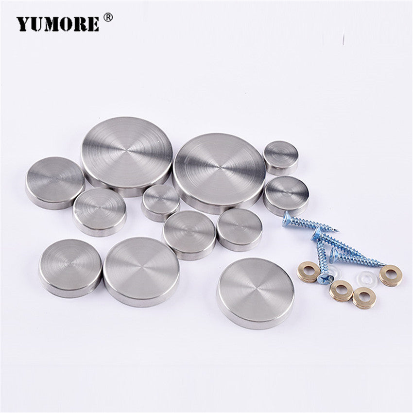 201 Stainless Steel Decorative Mirror Screw Covers Gzyumore