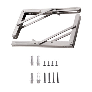 YUMORE Wholesales stainless steel Folding Shelf Bracket