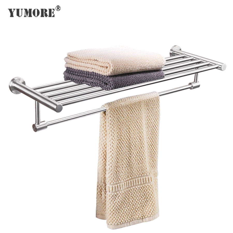 Bathroom accessories towel rack