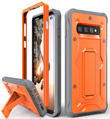 Vanguard Series Galaxy S10 Case - Orange - AmardilloTek