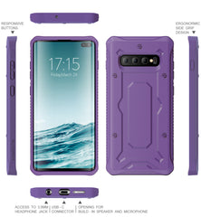 Urban Ranger Series Galaxy S10+ Plus Case -Deep Lavender - AmardilloTek