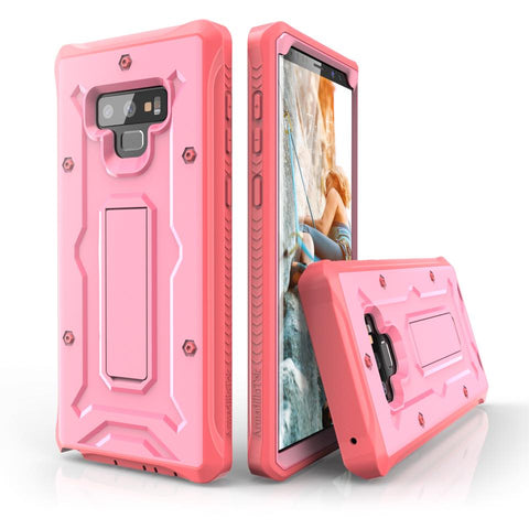 Vanguard Series Galaxy Note 9 Case - Pink - AmardilloTek