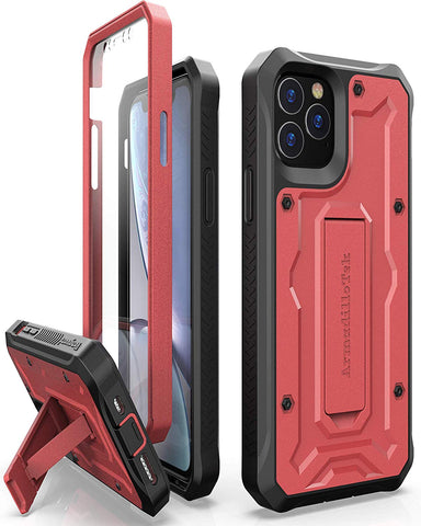 Vanguard Series Apple iPhone 11 Pro (5.8 inches) Case -Red - AmardilloTek