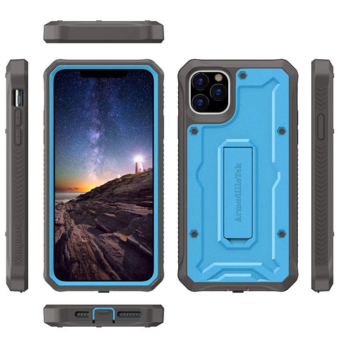 Vanguard Series Apple iPhone 11 Pro MAX (6.5 inches) Case - Blue - AmardilloTek