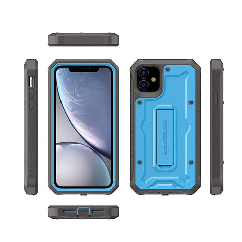 Vanguard Series Apple iPhone 11 (6.1 inches) Case - Blue - AmardilloTek